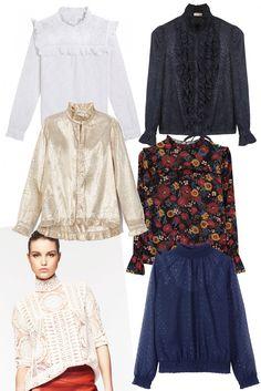 La blouse néo victorienne, sélection shopping