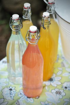 homemade ginger ale, fizzy lemonade, and limeade ... pinterest just doesn't get any better with recipes like these!