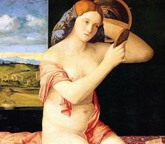 Giovanni Bellini (ca.1430-1516) ~ Young Woman at Her Toilette ~ 1515 ~ oil on panel ~ Kunsthistorisches Museum, Vienna Austria ~ Giovanni Bellini was an Italian Renaissance painter, probably the best known of the Bellini family of Venetian painters. His father was Jacopo Bellini, his brother was Gentile Bellini, and his brother-in-law was Andrea Mantegna.