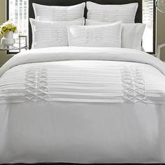 City Scene Triple Diamond White 3-piece Comforter Set - Overstock Shopping - Great Deals on City Scene Comforter Sets
