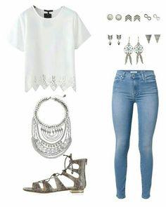 ¿Qué les parece este outfit de verano con un collar statement? Por cierto, checa nuestro top 15 de collares statement, ¡te encantarán!