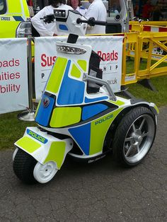 Electric Police Vehicle ★。☆。JpM ENTERTAINMENT ☆。★。