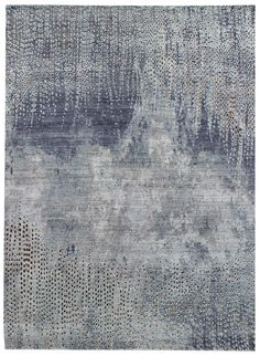 Recent Arrivals Gallery: Modern Textural Rug, Hand-knotted in India; size: 7 feet 11 inch(es) x 9 feet 11 inch(es)