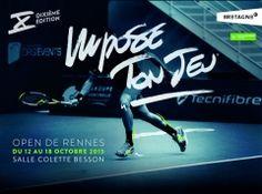 Marque Bretagne / Open Tennis de Rennes / Affiche / 2015