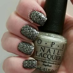 "OPI Christmas Collection ""Starlight"" Blue And White Nails, Opi, Swatch, Nail Polish, Nail Art, Christmas, Collection, Ongles, Nail Polishes"