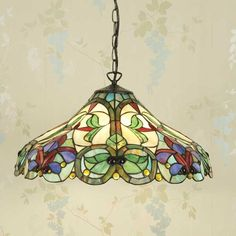 Tiffany Stained Glass Lewis | Tiffany Lighting London – Table Lamps, Wall Lights, Pendant Light ...