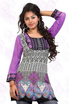 Look pretty in purple with this #Kurti @ Rs. 459