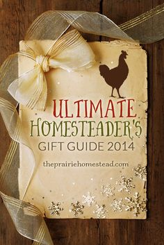 super smart gift ideas for the homesteader, hobby farmer, or wannabe homesteader in your life!
