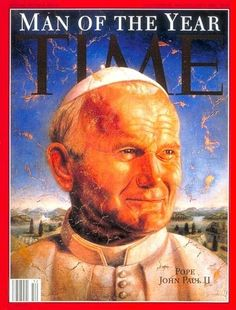 1994: Pope John Paul II~ Time's Man of the year