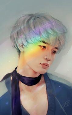 cr. omu_rizer #Minho #SHINee #Prism
