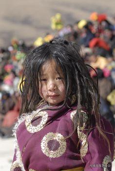 Words cannot do justice Tibetan child in Golog, Amdo, Tibet