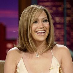 20 of Jennifer Lopez's Most Memorable Beauty Looks: We're not used to seeing Jennifer with shoulder-grazing strands, but for a 2005 appearance on The Tonight Show With Jay Leno, she showed off a chic blond bob.
