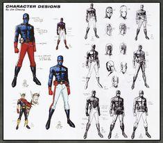 Art Vault: Photo Character Modeling, Comic Character, Character Concept, Character Design, Concept Art, Comic Book Artists, Comic Books Art, Marvel Comics, Design Comics