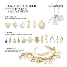 Wondering how to design the perfect gift? Follow our easy guide to create a keepsake that they'll treasure for years to come. Click through to shop your story at Stella & Dot