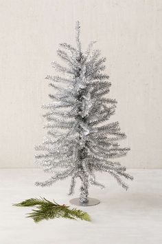 Mini Tinsel Tree - Urban Outfitters