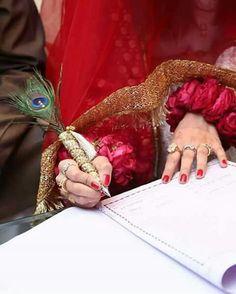 Nikah duppata and pen available Desi Wedding, Wedding Bride, Wedding Flowers, Wedding Prep, Wedding Goals, Wedding Ideas, Bridal Photography, Girl Photography, Nikah Ceremony