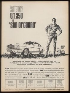 Shelby GT350 ad