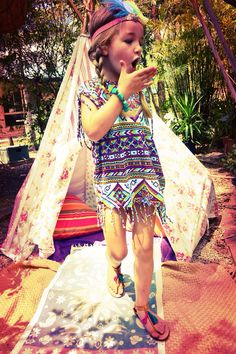 My little indian girl   @Ingrid Taylor Taylor Regelink Clothing