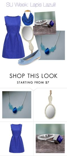 """""""Steven Universe Week: Lapis Lazuli!"""" by nerdybirdy1224 ❤ liked on Polyvore featuring Dot & Bo and NOVICA"""