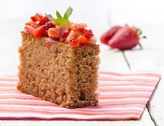 Erdbeer-Becherkuchen (ohne Ei)