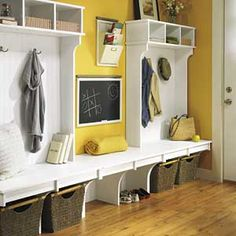 Awesome for mud room!