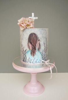 First Communion cake - cake by daruj tortu