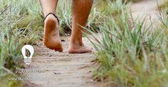 Benefícios de andar sem sapatos.