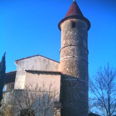 France - vineyards house