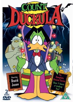 I loved count duckula when I was a child,  especially that he was a vegetarian.  I rewatched every episode when I was pregnant!