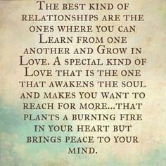 The best kinds of relationships are....