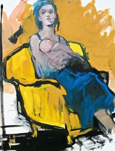 """""""Le triomphe de la vie"""" - acrylique sur toile - 89x116cm"""