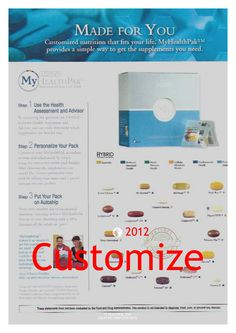 Customize your Nutrition- personally!    #usanahealthyliving
