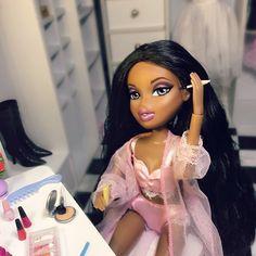 """193 Likes, 12 Comments - Girl, Im Shook! (@shook.bratz) on Instagram: """" #bratz #bratzdoll #makeup"""""""