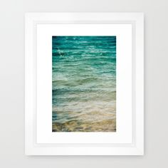 The Color of Water  Framed Art Print