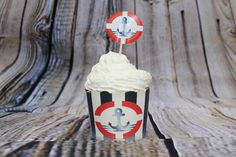 Ahoy Anchor Nautical Baking Cups -Sweet Munay - Amazon.