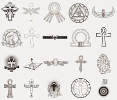 egyptian tattoo symbols