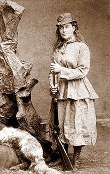 Martha Maxwell (1831–1881) was a self-educated naturalist and artist born who travelled to the Colorado Territory with the first wave of the Pike's Peak Gold Rush in 1860.  Martha was the first woman known to collect and prepare her own skins and mounts and as such, helped found modern taxidermy.