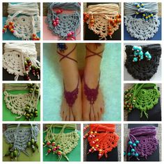 Hand made barefoot sandals