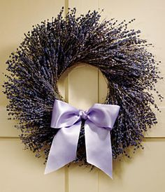 cute lavender wreathe