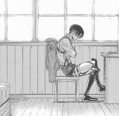 Levi Ackerman (Rivaille) - Shingeki no Kyojin / Attack on Titan Levi Ackerman, Levi X Eren, Ereri, Levihan, Saiunkoku Monogatari, Rivamika, Gekkan Shoujo, Attack On Titan Anime, Fan Art