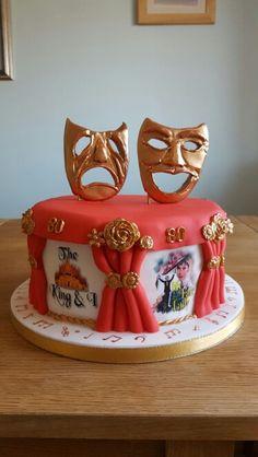 Opera / theatre cake