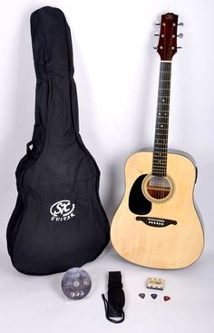 SX Mentor LH NA Left Handed Acoustic Guitar Package « StoreBreak.com – Away from the busy stores