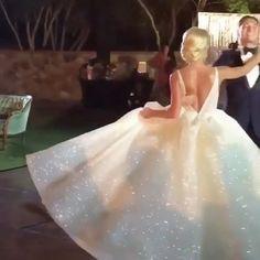 "15.6k Likes, 495 Comments - Lazaro (@lazarobridal) on Instagram: ""Dancing in Lazaro. #DancingInLazaro  @proballroom #veronikalexanderwedding #lazarobridal…"""