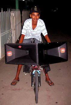 Bicycle Sound System 1 by mediaimran, via Flickr