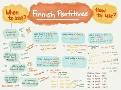 Finnish is not the easiest language to learn, but it is pretty logical. The best way to learn a language is to have proper motivations. Such as you have no choice because your survival depends on i… Finnish Grammar, Finnish Words, Finnish Language, Learn Finnish, Negative Words, Language Study, Single Words, English Lessons, Trip Planning