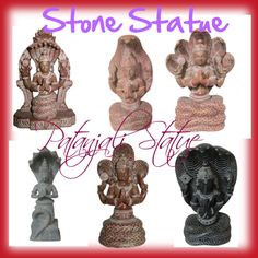 Yoga Meditation Room Decor Patanjali Statue, created by exoticindiacollection on Polyvore
