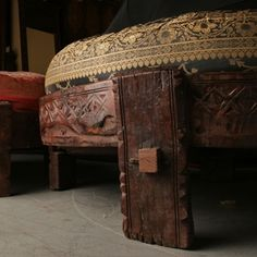 Chakkis - Moroccan ottoman.  Beautiful and only $199 for base.