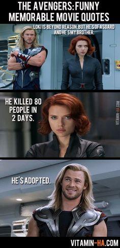 The Avengers Movie: Funny Memorable Quotes (7 pics)   Vitamin-Ha