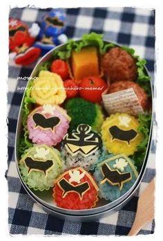 Power Rangers Bento