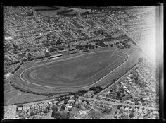 Aerial photograph taken by Whites Aviation. Quantity: 1 b&w original negative(s). Auckland, Historical Photos, New Zealand, City Photo, Historical Pictures, History Photos